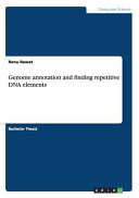 Genome Annotation and Finding Repetitive DNA Elements