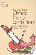 Viande Froide Cornichons Dans Les