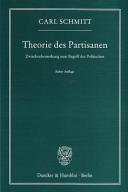Theorie des Partisanen