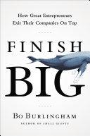 Finish Big