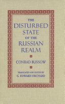 Pdf Disturbed State of the Russian Realm Telecharger