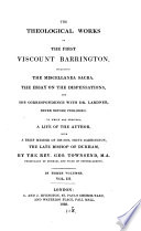 The Theological Works Of Viscount Barrington