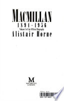 Macmillan: 1894-1956