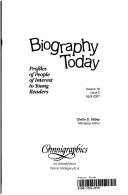 Biography Today Book PDF