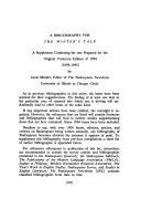 The New Variorium Shakespeare  The winter s tale  1898 1965