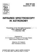 Infrared Spectroscopy in Astronomy