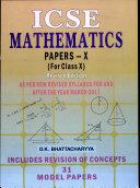 ICSE Mathematics Papers X