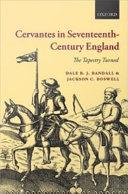 Cervantes in Seventeenth Century England