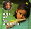 Gangs and Your Neighborhood ebook
