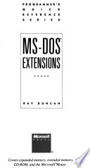 MS-DOS Extensions