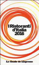 I ristoranti d'Italia 2016