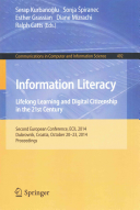 Information Literacy  Lifelong Learning and Digital Citizenship in the 21st Century