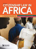 Pdf Citizenship Law in Africa Telecharger