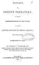 History of Oregon Territory