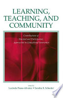 Learning  Teaching  and Community
