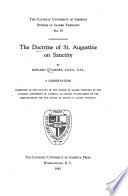 The Doctrine of St  Augustine on Sanctity