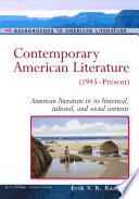 Contemporary American Literature  1945   Present