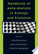 Handbook Of Meta Analysis In Ecology And Evolution Book PDF