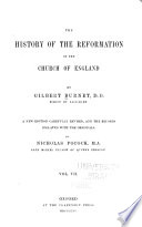 The History Of The Reformation Of The Church Of England Editors Preface Corrigenda Et Addenda Chronological Index Of Records General Index