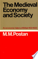 The Medieval Economy And Society