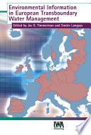 Environmental Information in European Transboundary Water Management