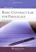 Basic Contract Law for Paralegals