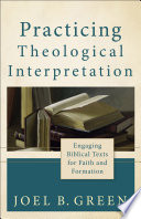Cover of Practicing Theological Interpretation