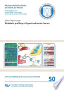 Metabolic profiling of hyperinsulinemic horses