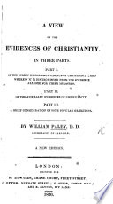 A View of the Evidences of Christianity ... Twenty-fourth edition  , Volume 1