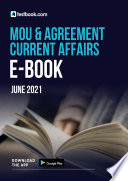 MoU and Agreement Current Affairs Ebook  Download Free CA Notes PDF here