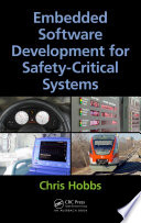 Embedded Software Development for Safety Critical Systems Book