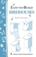 Easy to Build Birdhouses