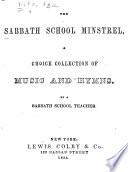 The Sabbath School Minstrel Book