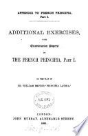 The French principia  3 pt   and  Key  in 8 pt  Pt  2  3 by P H E  Brette   Book