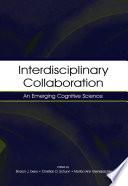 Interdisciplinary Collaboration Book