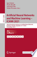 Artificial Neural Networks and Machine Learning     ICANN 2021