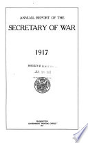 Report of the Secretary of War to the President