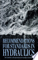 Recommendations For Standards In Hydraulics Book PDF