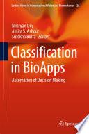 Classification in BioApps Book