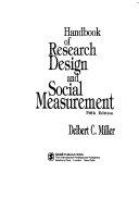 Handbook Of Research Design And Social Measurement PDF