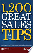 1 200 Great Sales Tips For Real Estate Pros Book