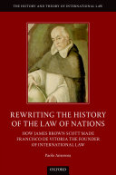 Rewriting the History of the Law of Nations