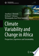 Climate Variability and Change in Africa