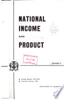 The National Income and Product of Jamaica