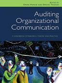 Auditing Organizational Communication