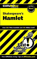 Cover of CliffsNotes on Shakespeare's Hamlet