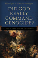 Did God Really Command Genocide? Pdf/ePub eBook