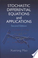 Stochastic Differential Equations and Applications Book