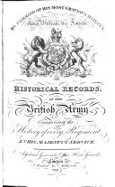 Historical Record of the Life Guards
