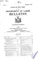 Special Bulletins   State of New York  Department of Labor